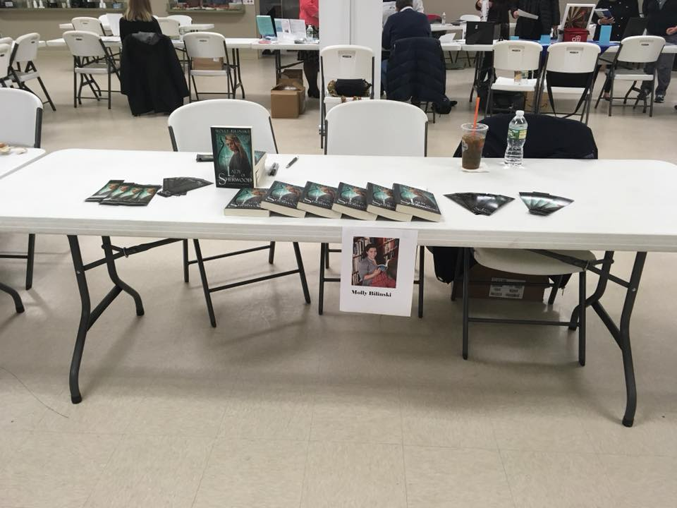 newfane author event